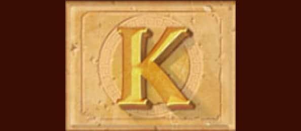 7.สัญลักษณ์ภาพตัวอัษร K-Tiger's Glory-Pussy888